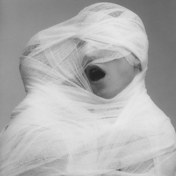 White Gauze, Robert Mapplethorpe, 1984