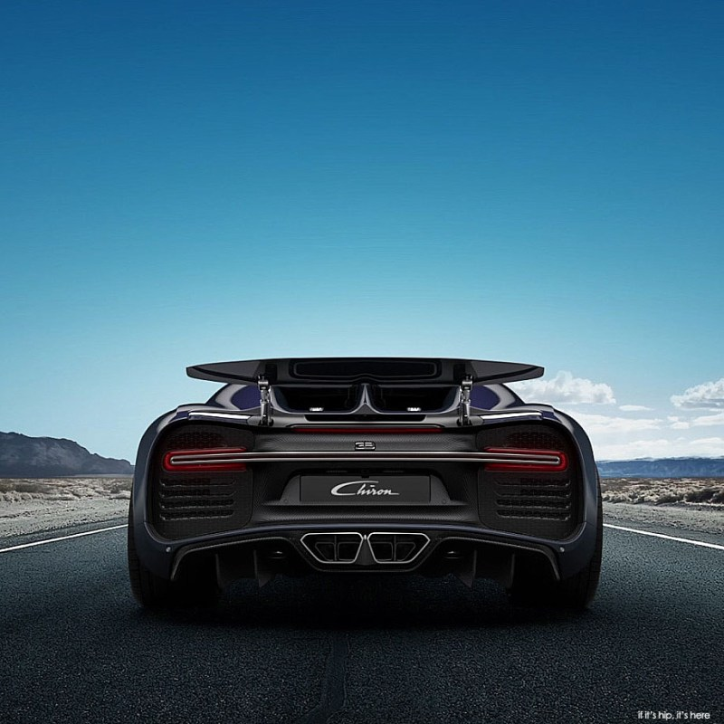 Bugatti Chiron: The Bugatti Chiron Unveiled: Beast, Beauty And Balls On