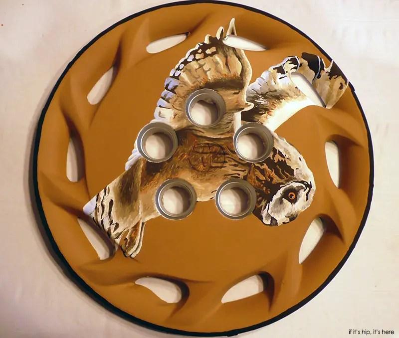 flying owl hubcap