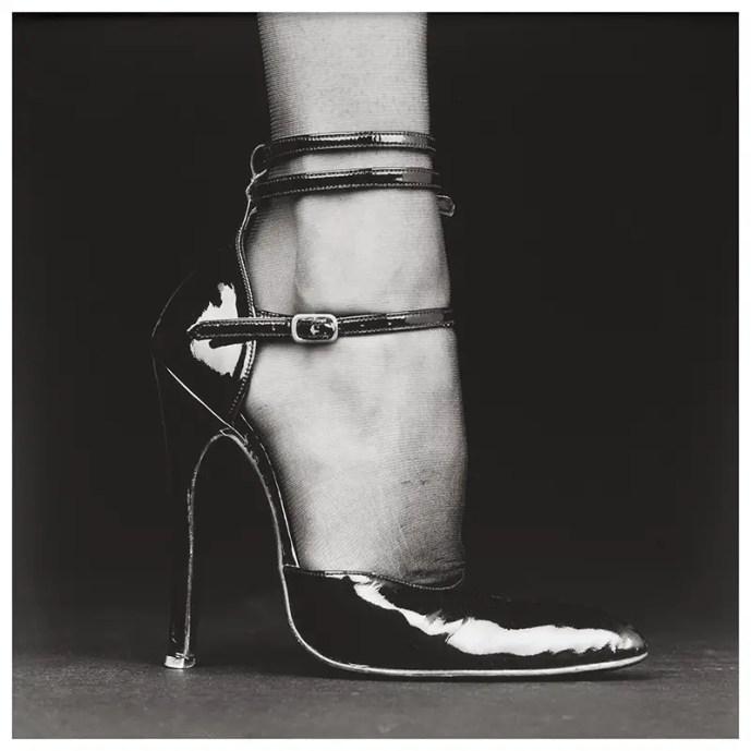 robert mapplethorpe, shoe melody, 1987