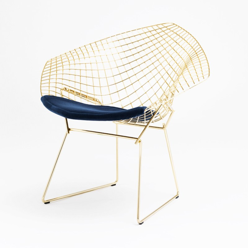 knoll 18k gold plated vintage classics bertoia and platner. Black Bedroom Furniture Sets. Home Design Ideas