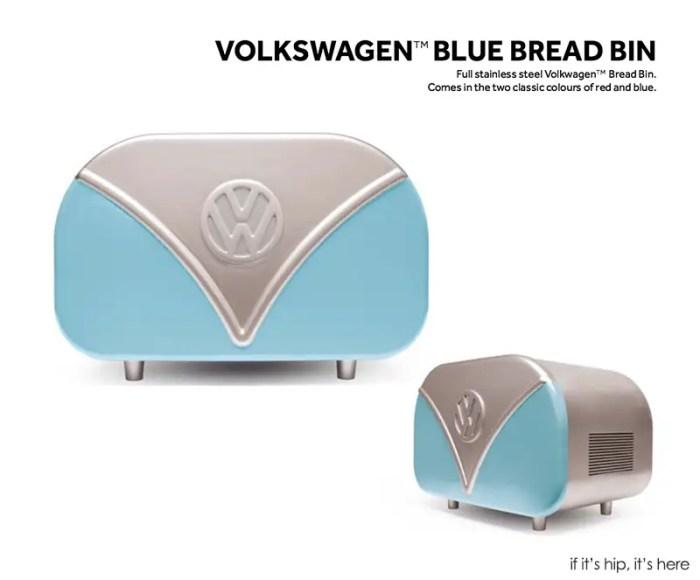 VW Blue Bread bin