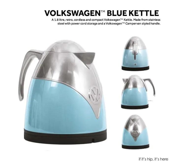 VW blue kettle