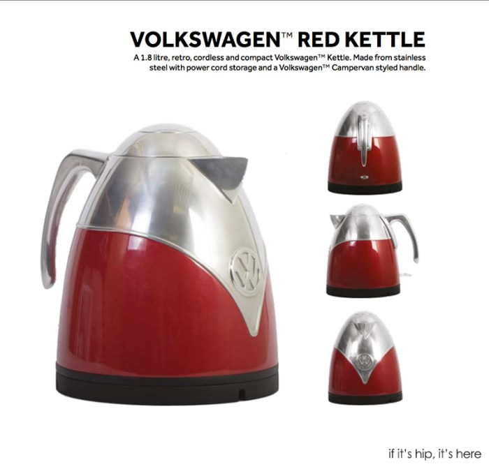 VW red kettle