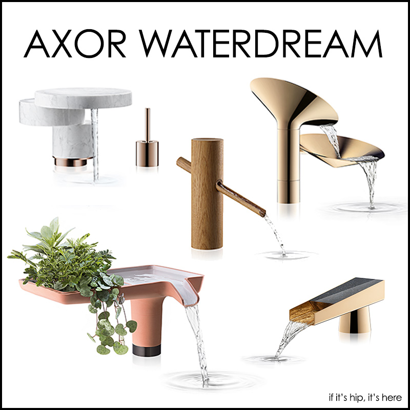Axor WaterDream 2016 - 5 Original Faucets