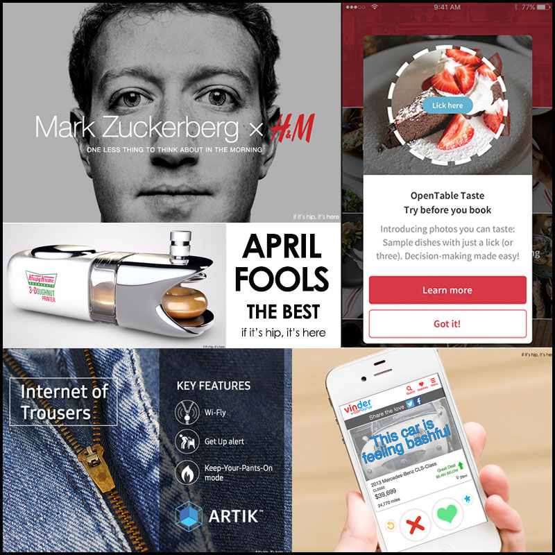 best april fools pranks of 2016 IIHIH