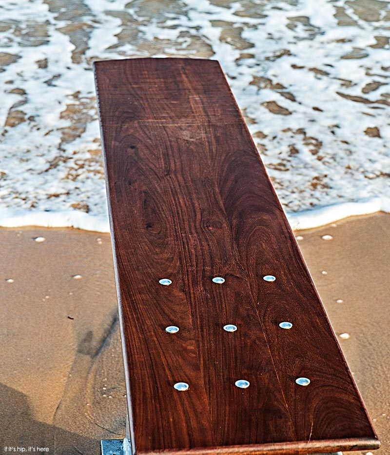 revelation 1 custom wood diving board - if it's hip, it's here