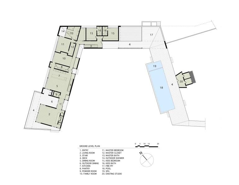 Mothersill-ground level plans