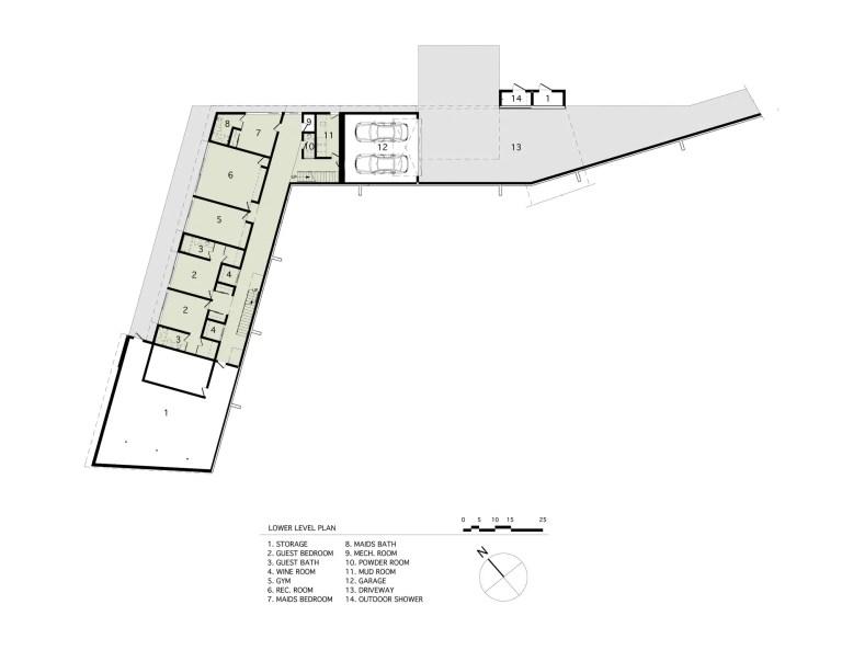 Mothersill-lower level plans