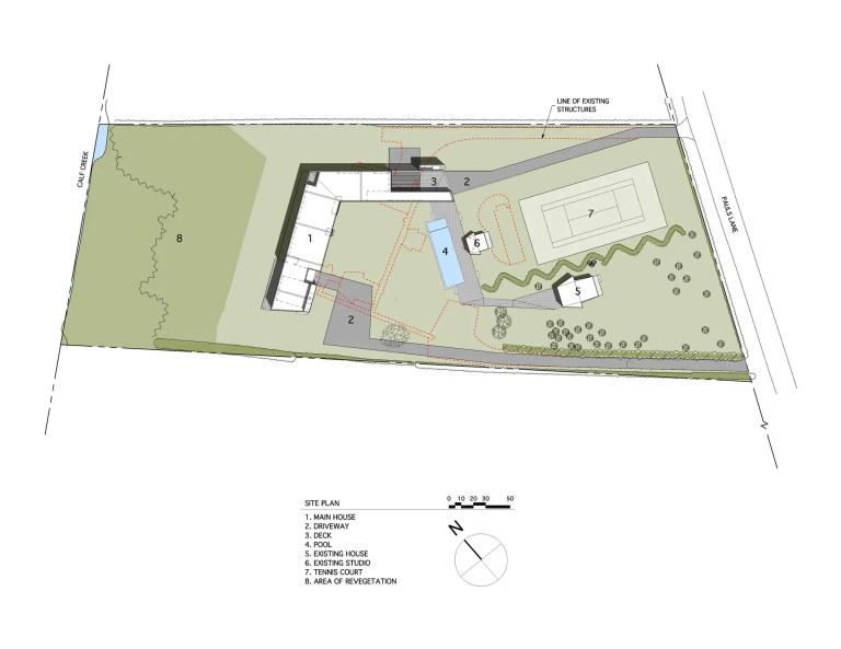 Mothersill-site plan
