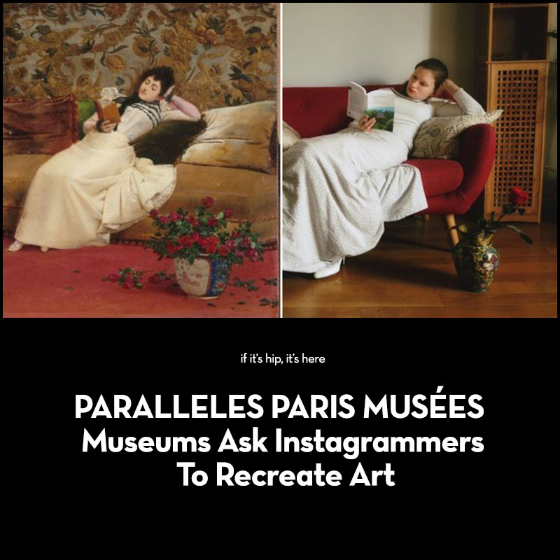 Paris Museums Ask Instagrammers to Recreate Art