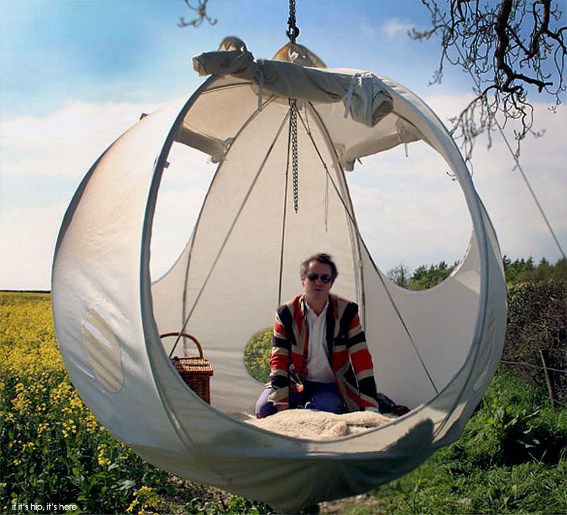 The Roomoon Suspended Spherical Tent Glamping In The