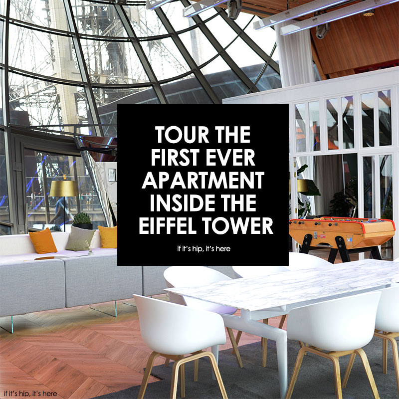 apartment inside. apartment inside the eiffel tower The First Ever Apartment Inside Eiffel Tower