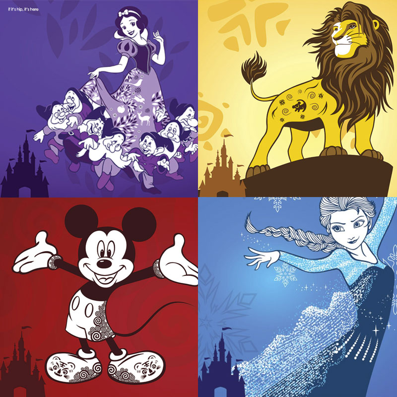 Disney Shanghai Recruitment Posters