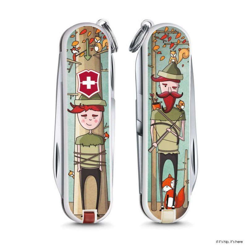 10 Adorable Artsy Limited Edition Victorinox Pocket Knives