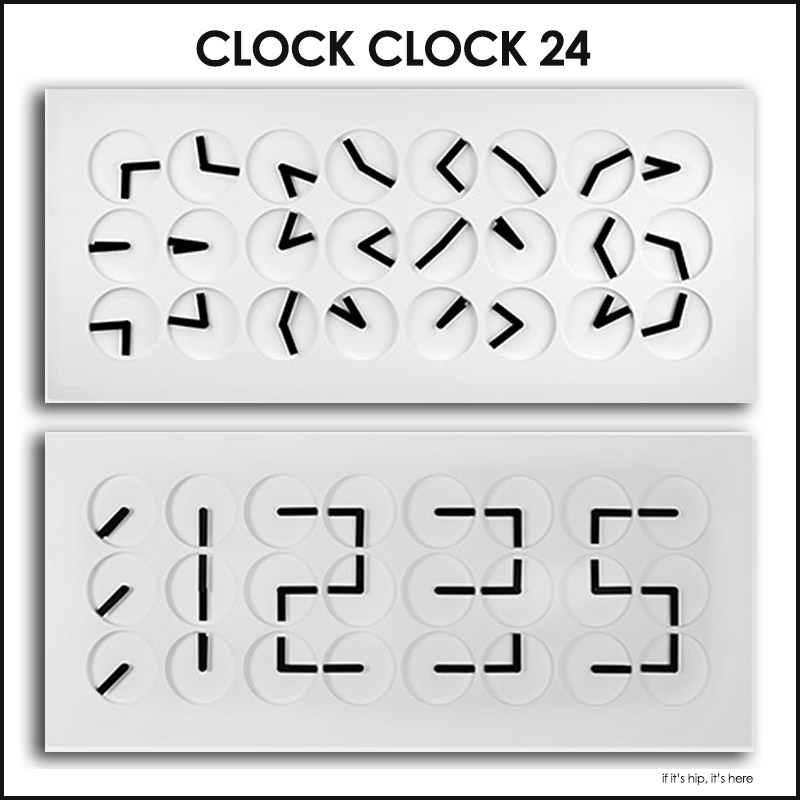 Clock Clock 24 by Humans Since 1982