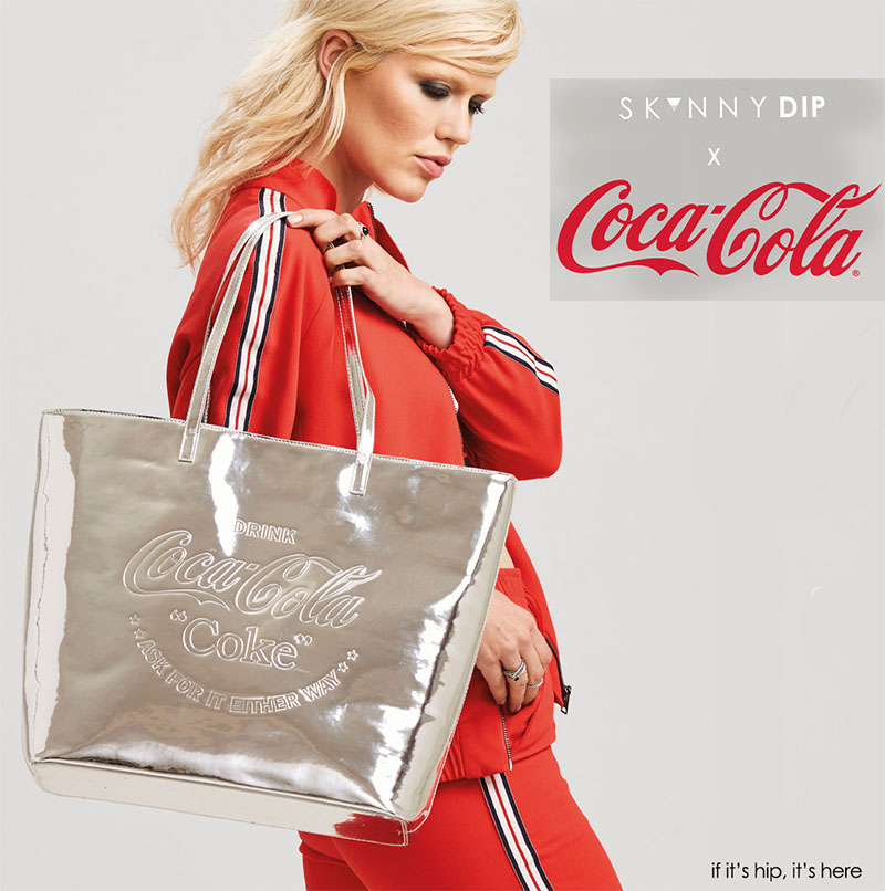 15cc56dd34 Skinnydip X Coca Cola Capsule Collection – if it's hip, it's here