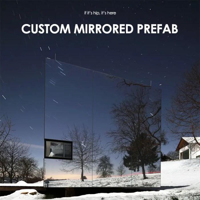 casa invisible custom mirrored prefab