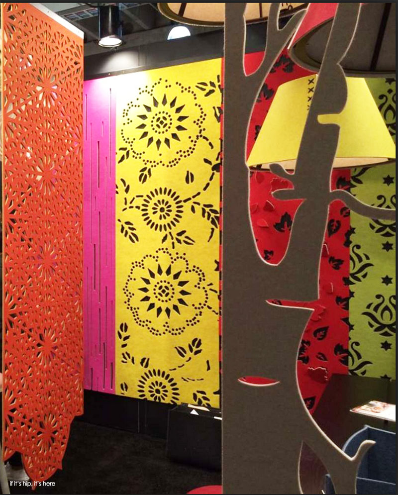 BuzziFalls Sound Absorbing Felt Room Dividers From BuzziSpace