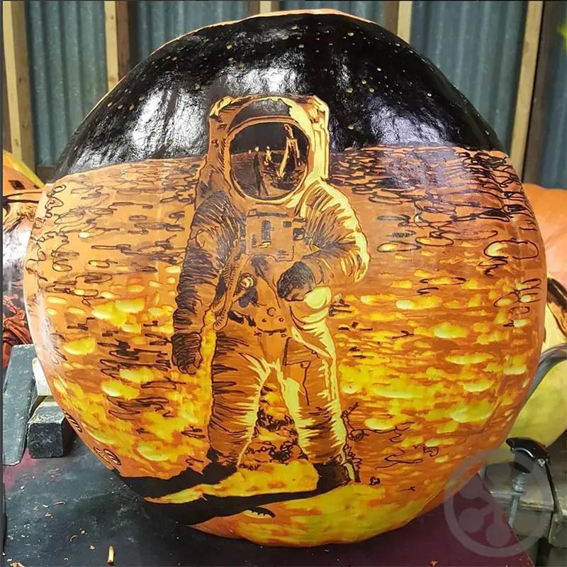 Crazy Impressive Edward Cabral Pumpkin Carvings