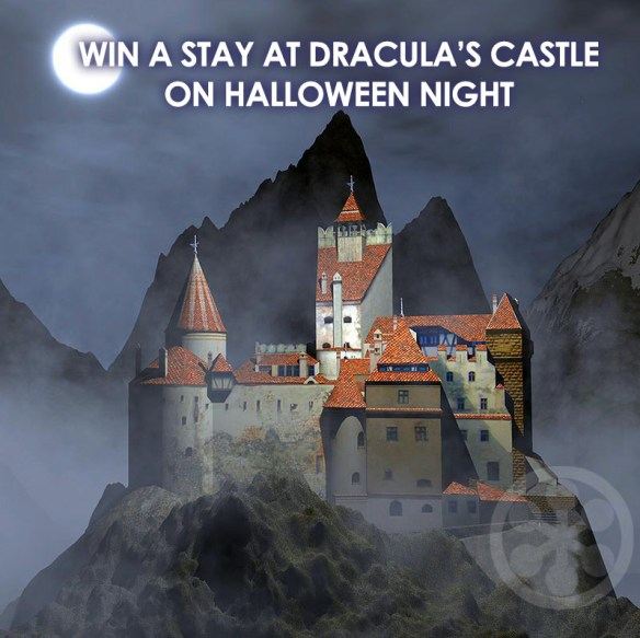 A Scary Stay In Dracula's Castle On Halloween Night Could Be