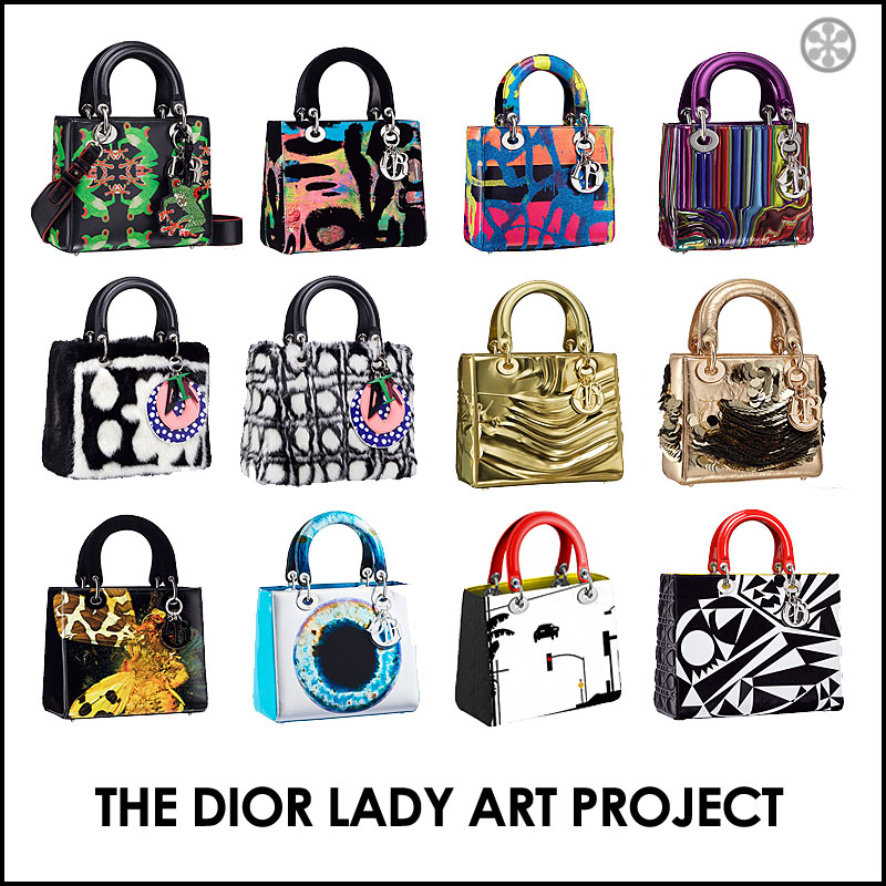6450933ad7 This past June, the London-based contemporary artist Marc Quinn was invited  by the House of DIOR to revisit their iconic Lady Dior bag in a limited- edition ...