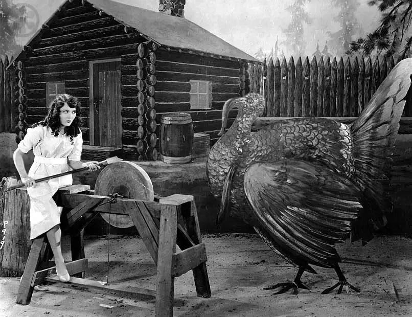 Turkey Amp Breasts Vintage Hollywood Thanksgiving PinUps