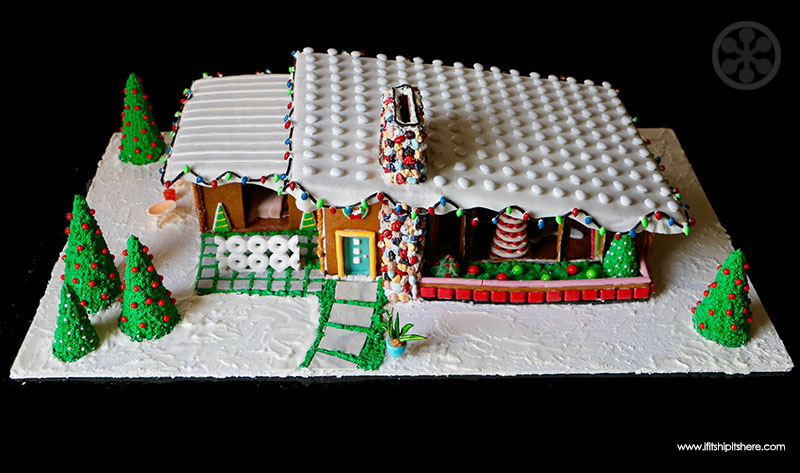 Inspiring Mid Century Gingerbread House Kit Ideas - Simple Design ...