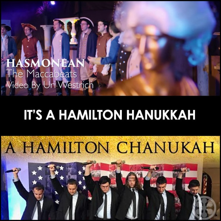 Not One But Two Hamilton Hanukkah Songs and Lyrics