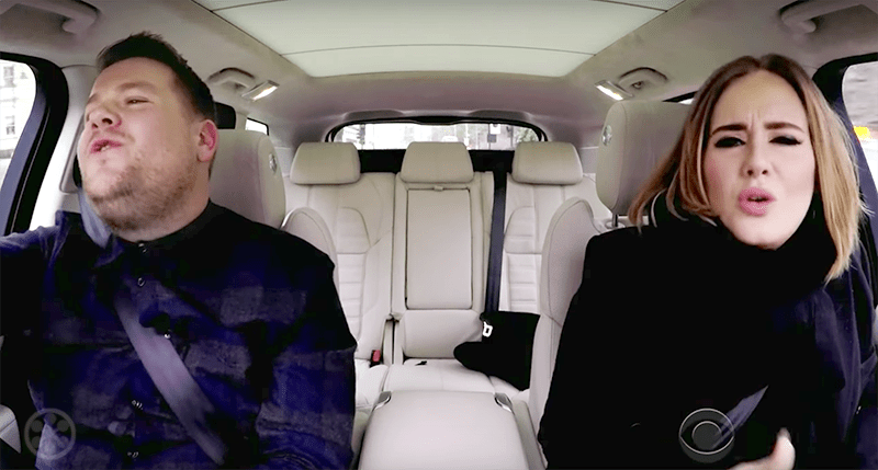 Corden's Christmas Carpool Karaoke