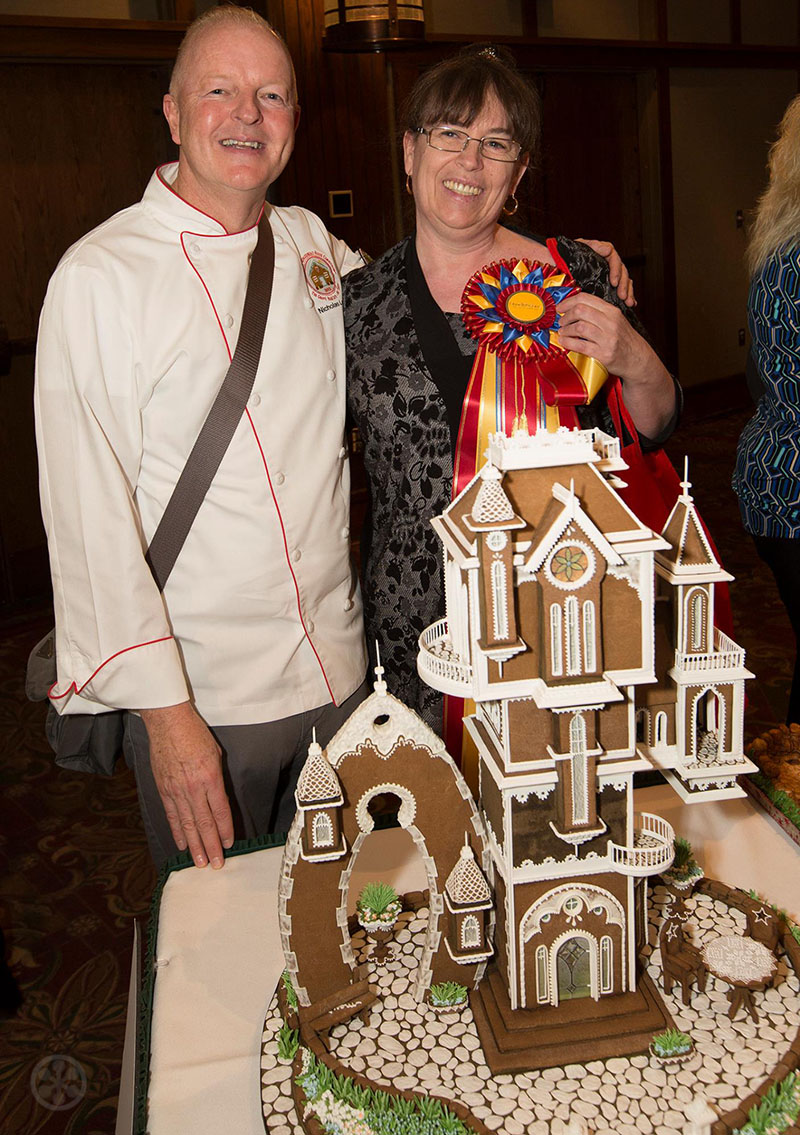 The 2017 Grove Park Inn Gingerbread House Competition Winners