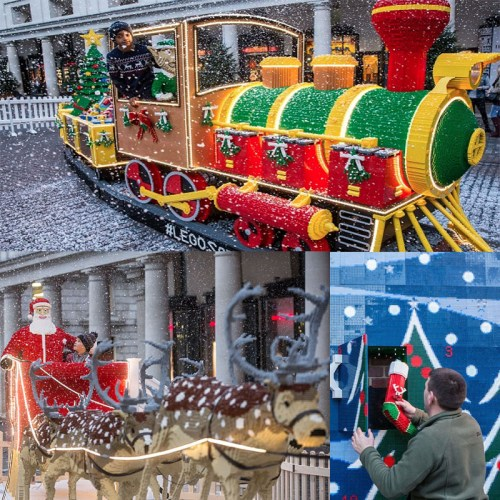 Read more about the article Santa's Workshop Made of 700,000 LEGO Bricks