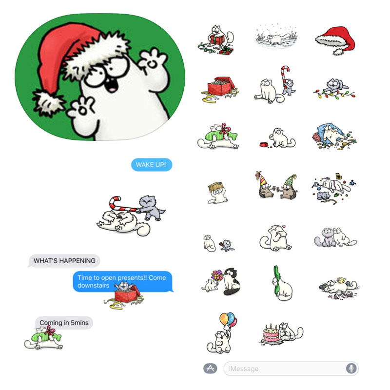 The Only Cat Cartoons I Can Endure Simon S Cat Christmas