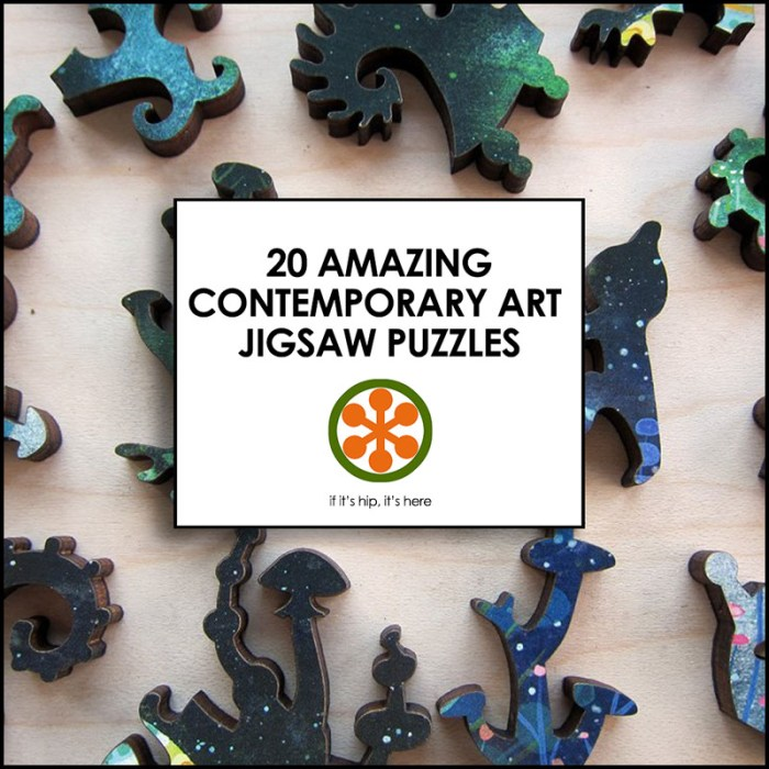 Contemporary Art Jigsaw Puzzles