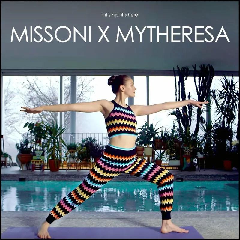 Missoni Daughter: Namaste Fashionistas: Missoni X Mytheresa Activewear!