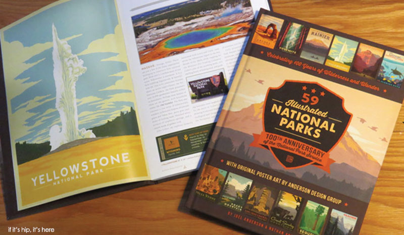 Anderson Design Group's Coffee Table Book of National Parks Posters - Uinta's National Parks Beer Can Designs By Anderson Design Group