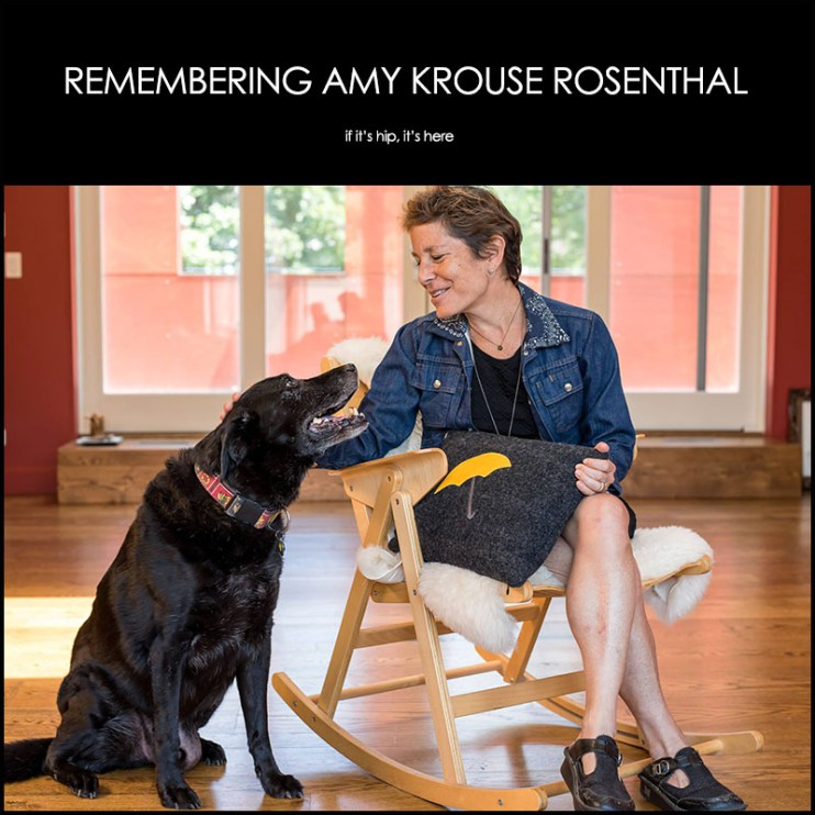 Remembering Amy Krouse Rosenthal
