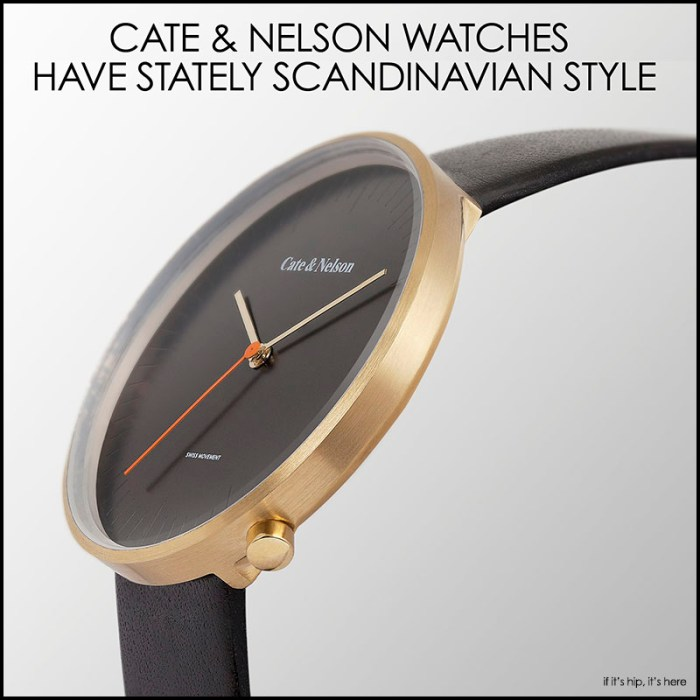 Cate & Nelson Watches