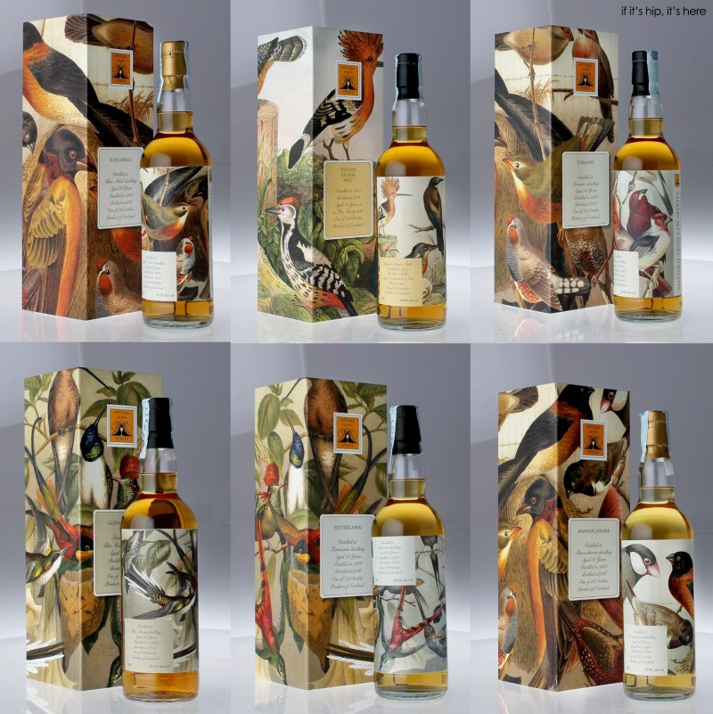 Antique Lions of Whisky The Birds