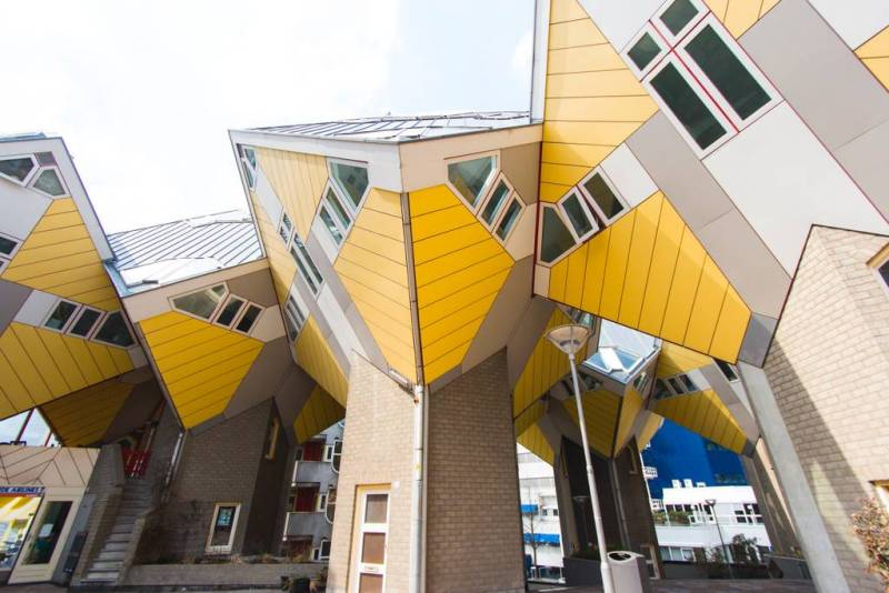 Airbnb Offers A Stay In One Of Rotterdam S Funky Cube
