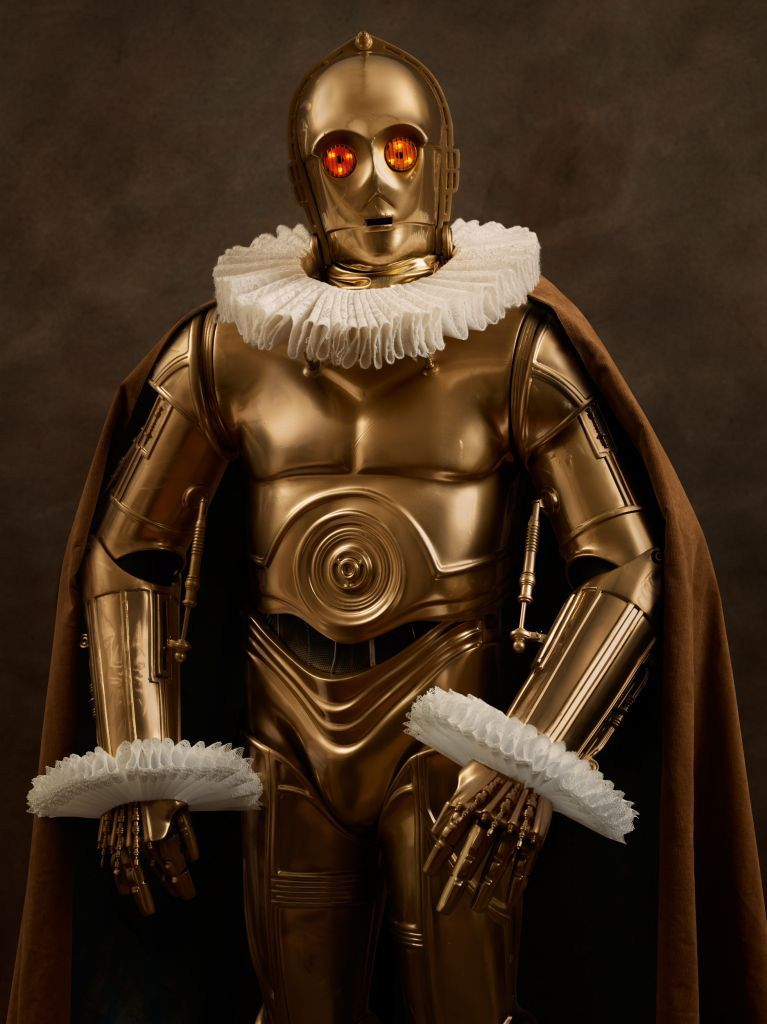 Star Wars Characters as Flemish Portraits