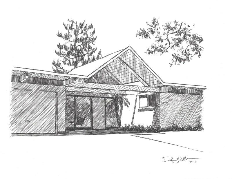 eichler house drawings