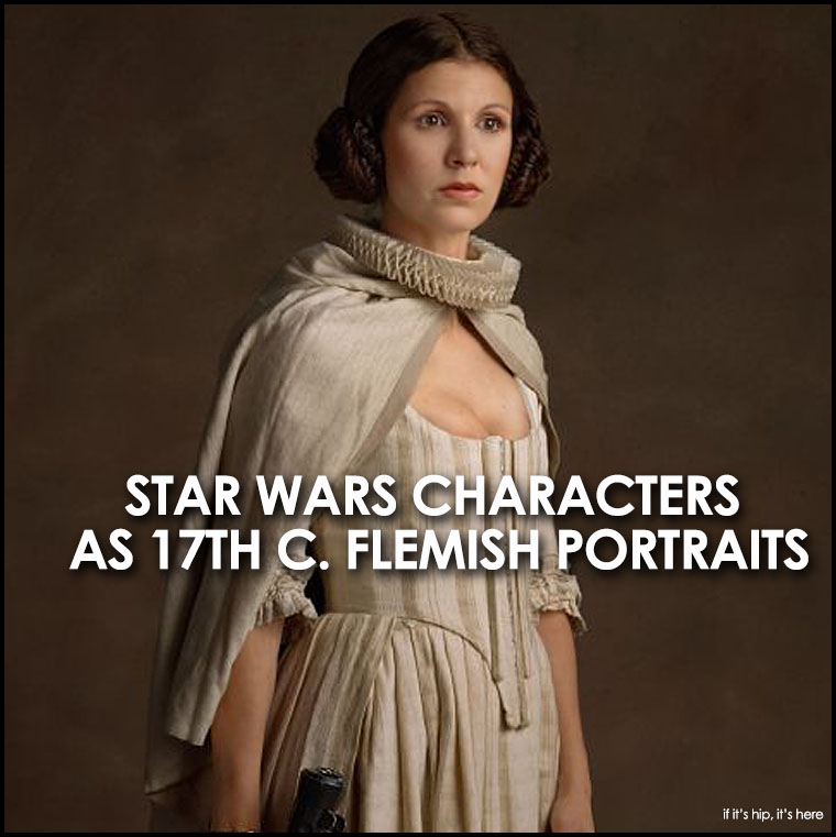 May The Fourth Be With You French: Star Wars Characters As Flemish Portraits For Star Wars Day