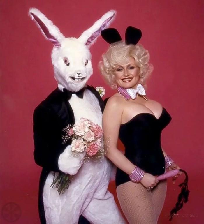 Dolly Parton playboy bunny