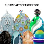 Incredible Artist Easter Eggs Created To Help Kids and Elephants