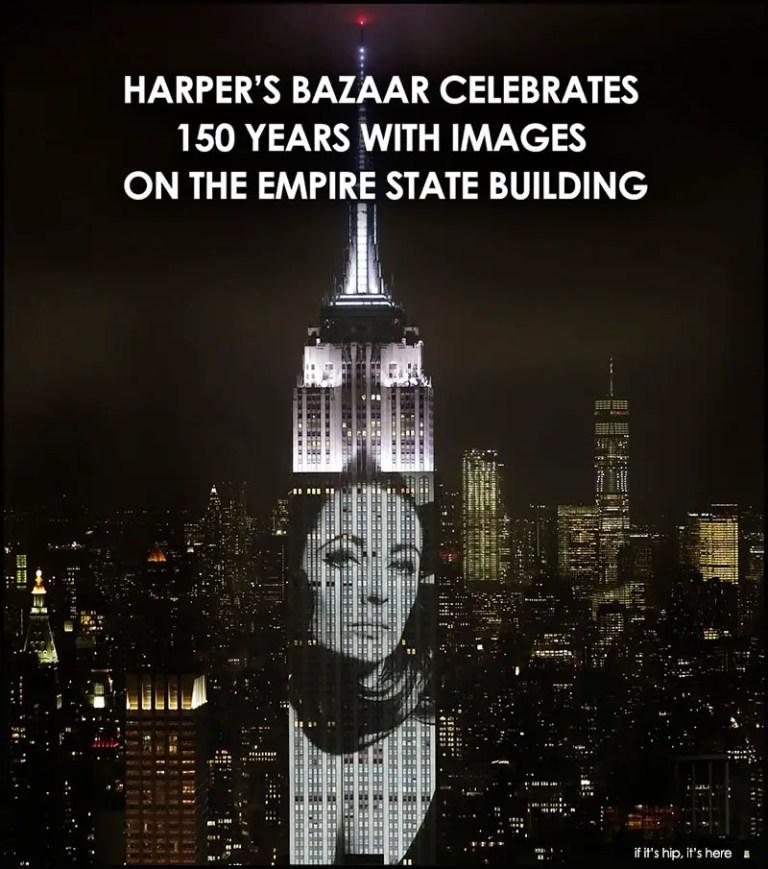 Harper's Bazaar Images on Empire State Building