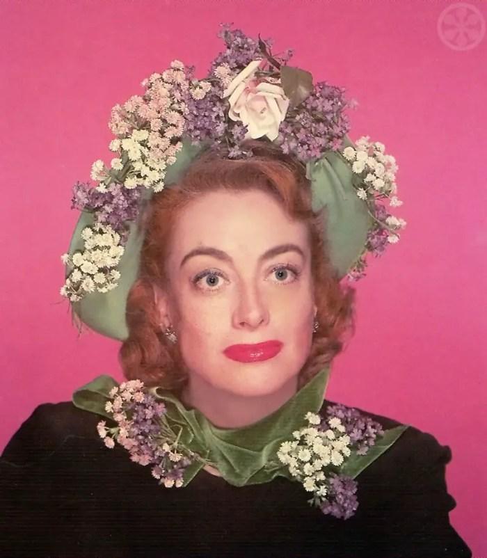 Joan Crawford in Easter Bonnet