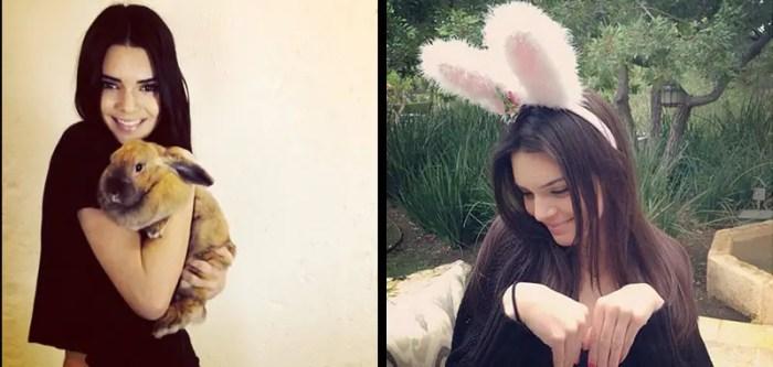 Kendall Jenner easter pics
