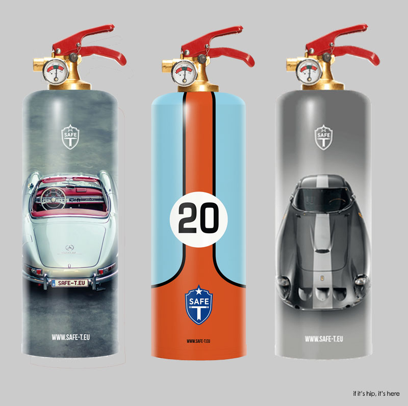 On the SAFE-T extinguishers, the instructions are at the bottom of the  bottle, so they are not UL certified.