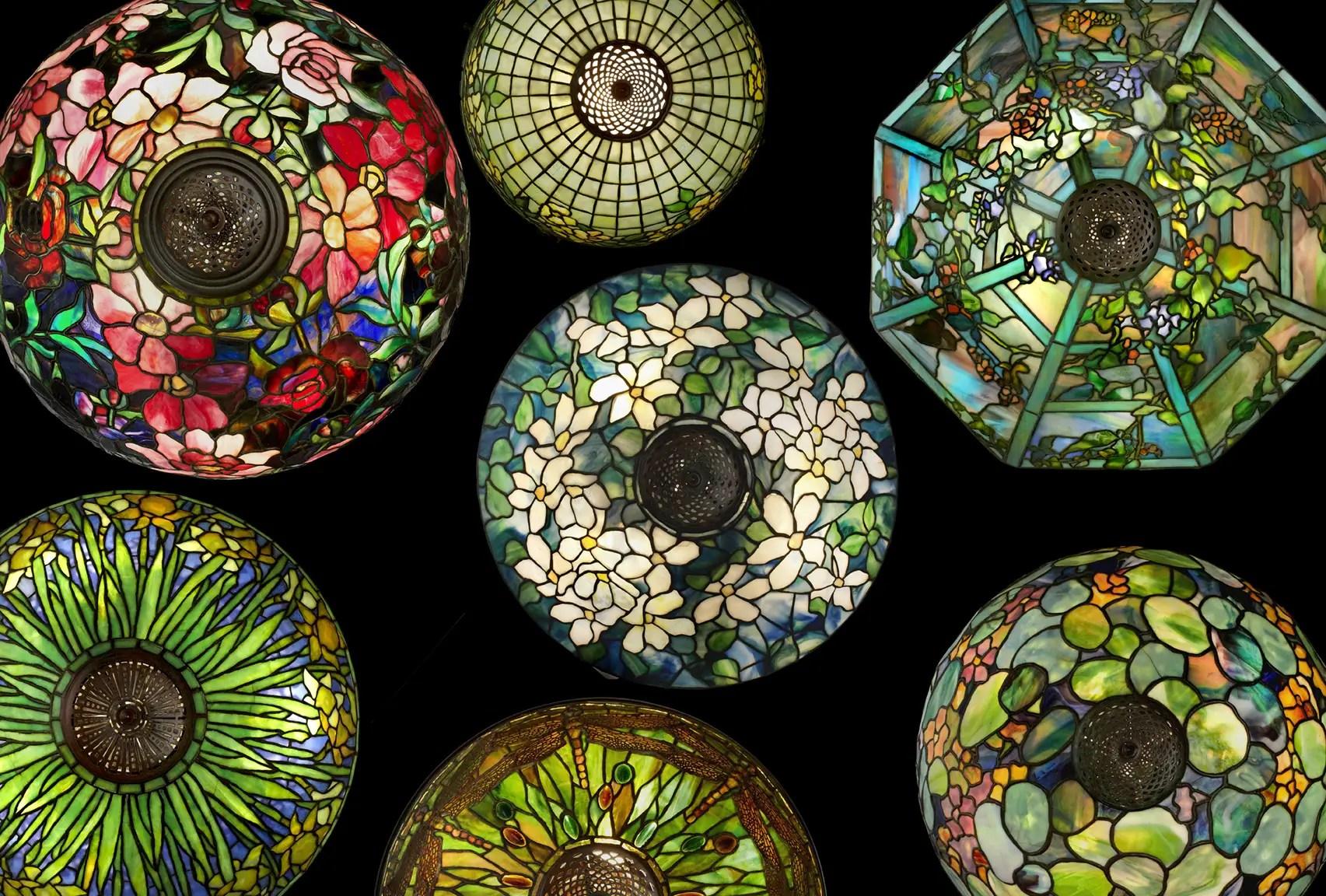 Tiffany Studios, Group Of Lamps (birdu0027s Eye Detail), Photograph By John  Faier, © Driehaus Museum, 2013